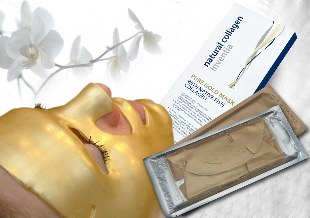 Pure Gold Mask with Native Fish Collagen
