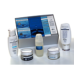 A SET OF DAY CREAM, NIGHT CREAM, PILLING, TONIC+50 ml PLATINUM